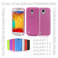 Best Price Ultra Slim Thin Hard Case Cover Ultra Slim 0,3 mm Transparent Matte for Samsung Galaxy S3 S 3 i9300 Rose
