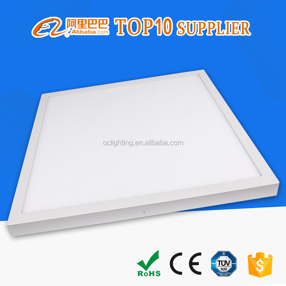 China Guzhen recessed surface mounted Square 60x60 cm mgl led panel light for 3 years warranty