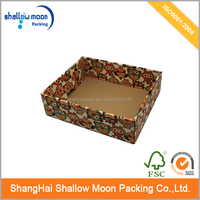 Printed vegetable packaging carton boxes with low price