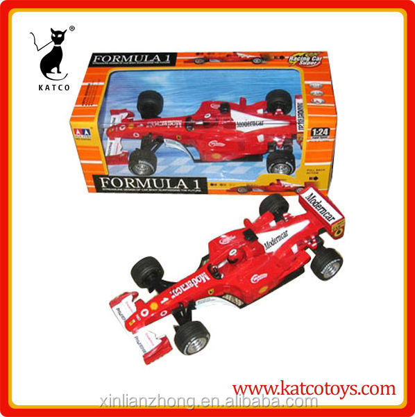1:24 customs pull back model alloy Die-cast formula car