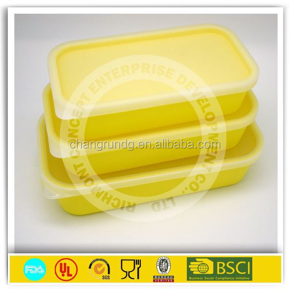 bsci approved factories silicone microwave food mess tin container