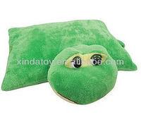Big eyes turtle plush pet pillow