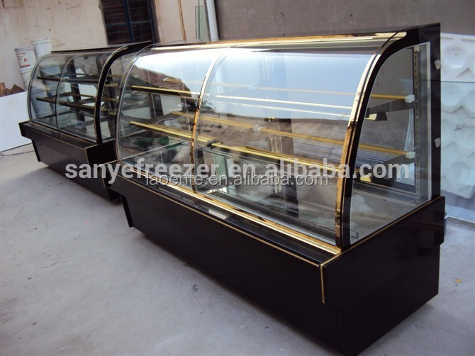 New design used refrigerated display cases