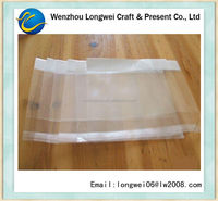 transparent poly woven bag/plastic poly bag manufacturers