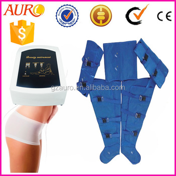 Nice price body shaper lymphatic drainage machine pressotherapy fat removal blanket Au-7007