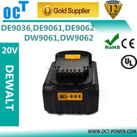 Brand new battery for dewalt battery replacement 18v DC9096 DC988 DCD985L2 DW997