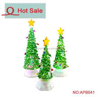 LED new design Acrylic spiral christmas tree light