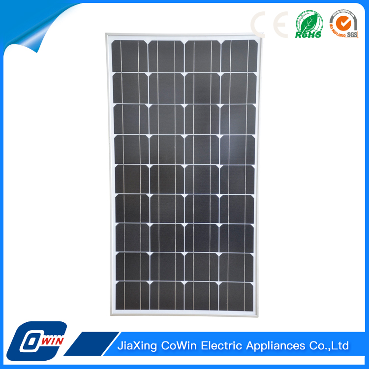 Export Top Quality Wholesale 100W Solar Electricity Generation System Panel