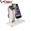 New For Apple Watch Holder Stand , Luxury Aluminum Metal Zinc Alloy Wireless Charging Stand Display For Apple Watch