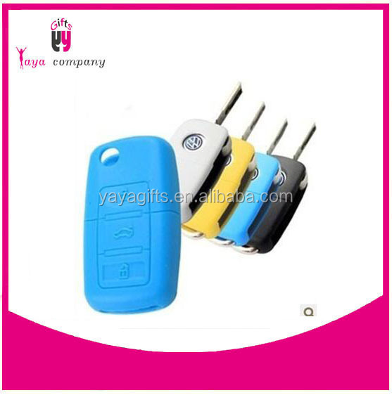 high quality high quality silicone key case for vw car key