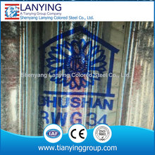 Cheap India Bhushan BWG corrugated sheet sales from China bhushan metal roofing supply