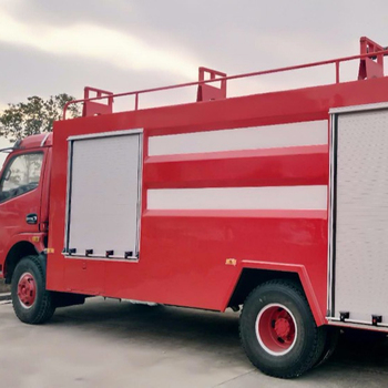 for sales Famous brand foam and water fire fighting truck price