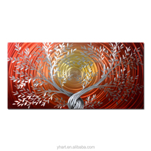 Aluminium 3D Metal Painting Wall Art for Home Decoration