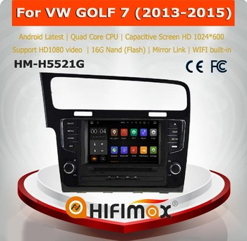Hifimax Android 5.1 vw golf 7 car dvd system gps navigation for vw golf 7 car multimedia 2013 support dvd car audio navigation