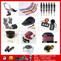 Newest bajaj boxer motorcycle parts and accessories with high quality for sale