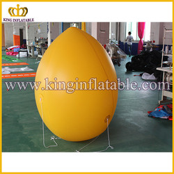 For advertising used big lemon inflatable fruit model for promotional