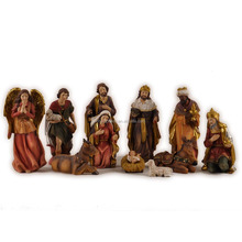 12'' catholic resin nativity scene/ resin nativity figurine for 2016