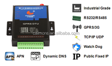 I/O SCADA 3G RS232/RS485 IGM/DTU serial port rs232 3g modem for street lights control system