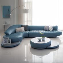 Modern new design top living room sofa modern euro design leather sofa