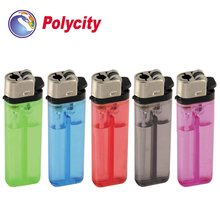 Flint disposable cigarette lighter with round bottom shape
