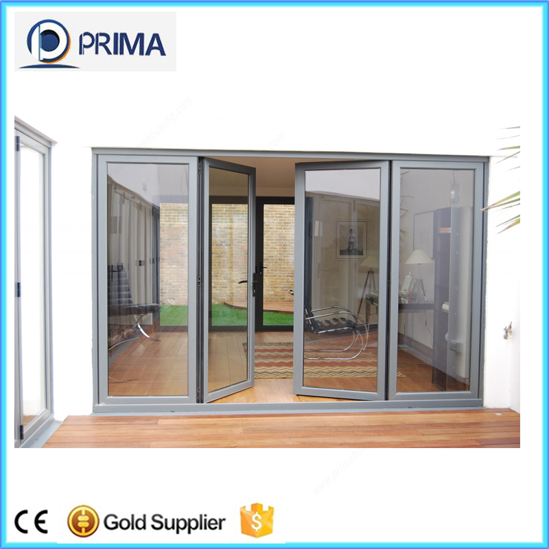 High quality aluminium office swing half doors