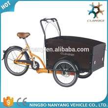 Three wheel cargo bike vehicle