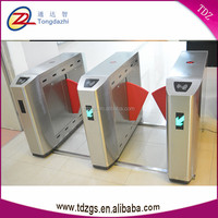 Security building entrance Control RFID card ticket system management flap turnstile barrier gate for disable