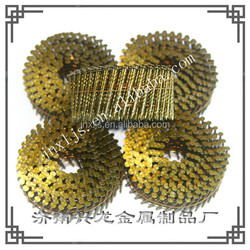 common nails coil nails 2.3 x 2 1/4'' China supplier