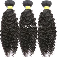 Newness Hair 100 gram per bundle non remy brazilian human hair wholesale indian hair in india