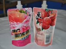 Direct manufacture hot selling healthy reusable spout pouch for fruit juice