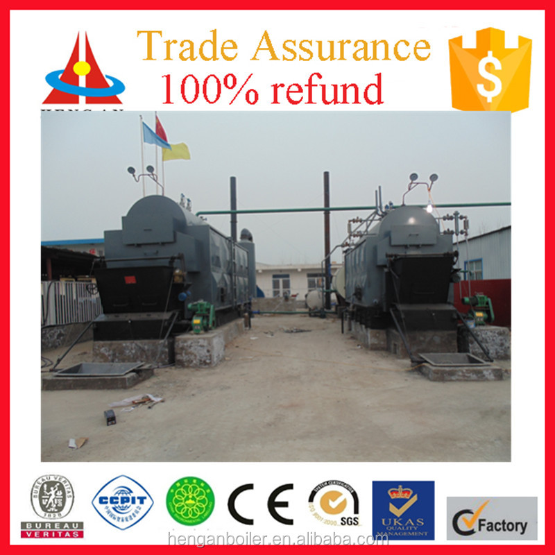 Hengan 2ton industrial coal fired steam boiler for sale