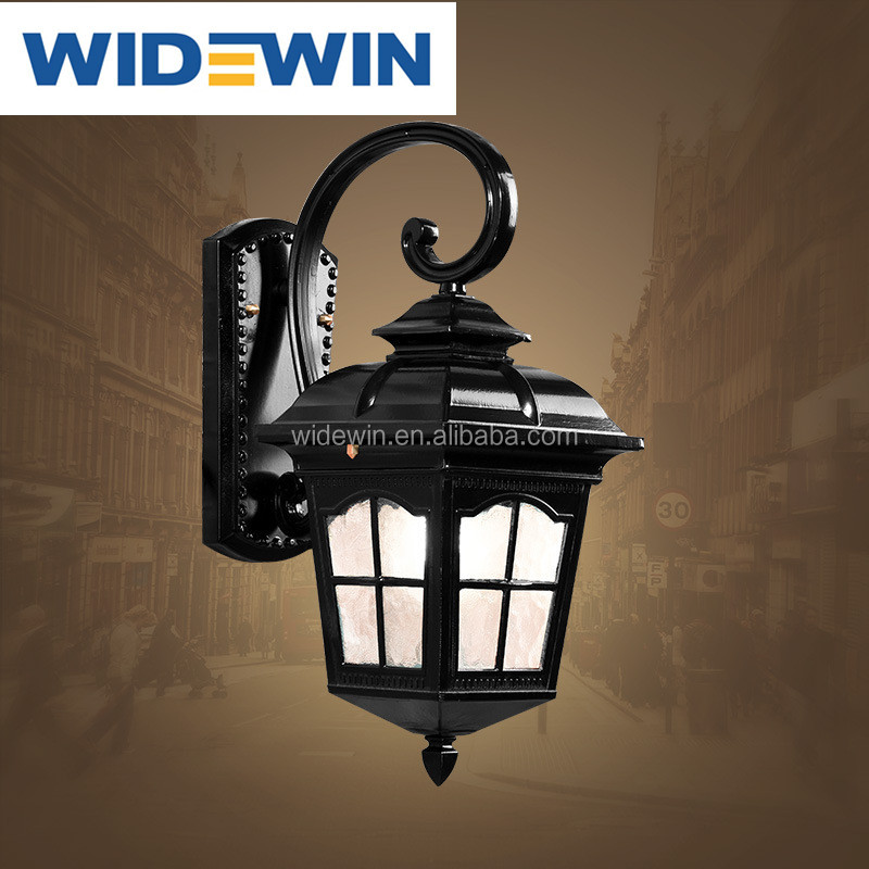 European style out door vintage aluminum wall lamp