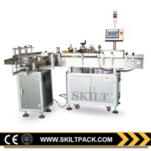 Automatic Round / Square Fish Can Labeling Machine with Auto Feeding Turntable