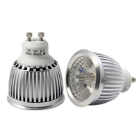 Amazon hot sale COB gu10 dimmable high cri 5w 6w driverless led spotlight