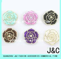 Shoes Accessory Flower and Bags Accessory/ABS flower with rhinestone