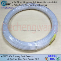 Good chemical resistance teflon transparent pipe