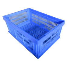 Vegetable Folding Baskets Collapsible Plastic Fruit Crates