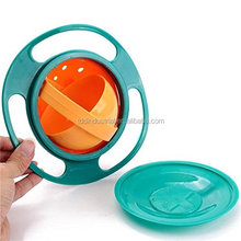 Revolutionary Anti Spill Bowl For Kids, Smooth 360 Degrees Rotation With Highly Durable Material, For Children Of All Ages
