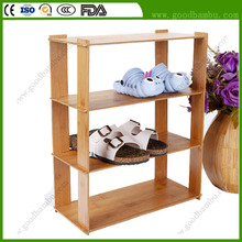 Durable MDF Bamboo Corner Shoe Cabinet for Sale
