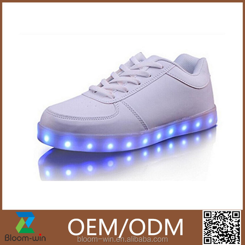 2016 Women LED shoe and Man shoe LED,colorful and hot-selling