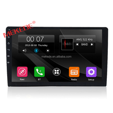 MEKEDE factory wholesale 9inch HD car Audio system gps navigator radio cassette dvd player fit for all car