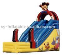 2016 promotion inflatable clown Children Slide for sale