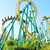 Amusement equipment park big roller coaster in cheap price for sale