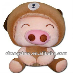cute plush and stuffed animal toy mcdull pig