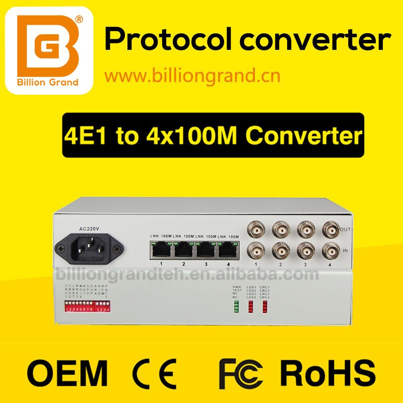 A good manufacturer to provide E1 fiber optic converter