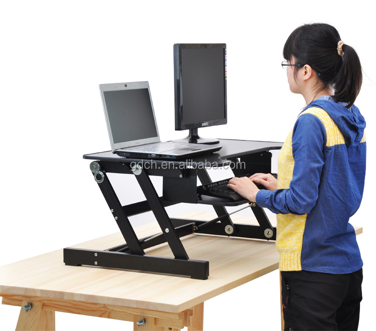Portable Wooden Desktop Table Folding Adjustable Laptop