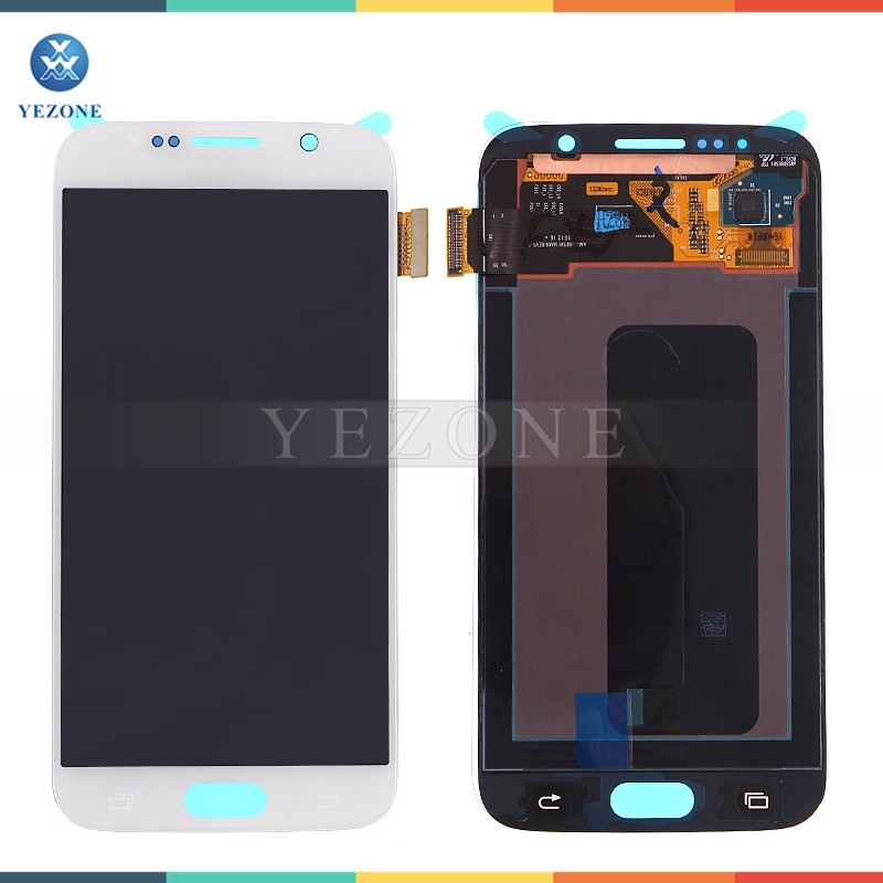 Cheap Price LCD For Samsung S6, LCD Touch Screen Digitizer For Samsung Galaxy S6 LCD Digitizer