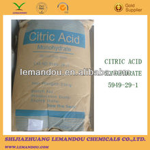 Citric Acid food additive monohydrous flavoring agent