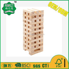 wooden giant jenga game and puzzle game for garden game