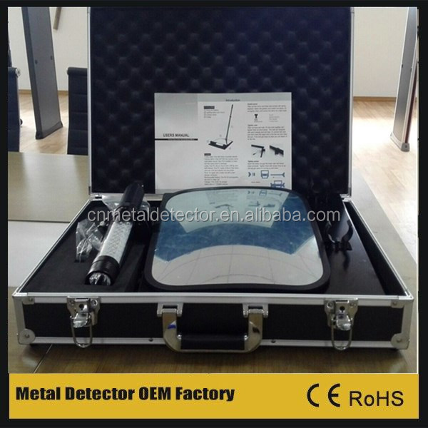 under vehicle security inspection mirror with led light